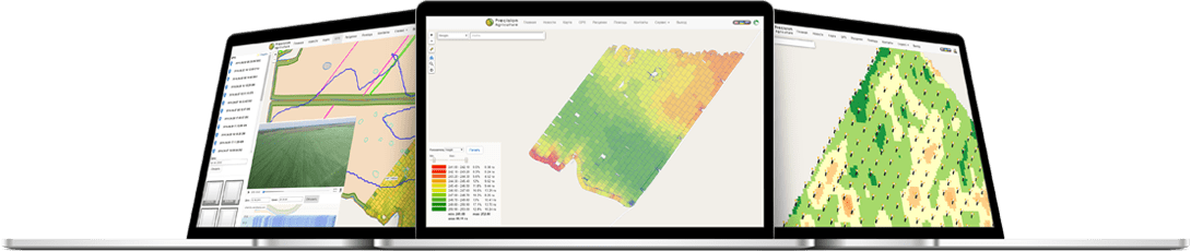 The main features of PreAgri for precision farming